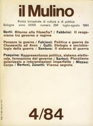 Copertina del fascicolo dell'articolo Il reaganismo tra governo e regime