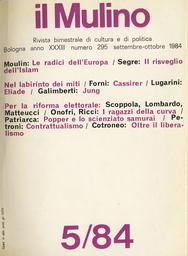 Copertina del fascicolo dell'articolo Le radici culturali dell'Europa