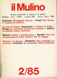Copertina del fascicolo dell'articolo Il futuro di Yalta