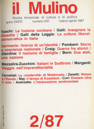 Copertina del fascicolo dell'articolo Futuro e presente della modernità