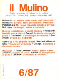 Copertina del fascicolo dell'articolo Geertz contro Geertz