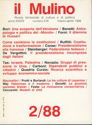 Copertina del fascicolo dell'articolo Habermans: costellazione del moderno e comunicazione