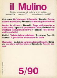 Copertina del fascicolo dell'articolo Divisioni democristiane
