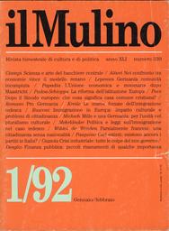 Copertina del fascicolo dell'articolo Scienza e arte del banchiere centrale