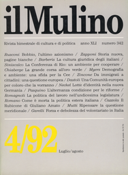 Copertina del fascicolo dell'articolo La politica del lavoro nell'XI legislatura