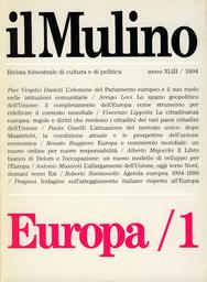 Copertina del fascicolo dell'articolo Lo spazio geopolitico dell'Unione europea