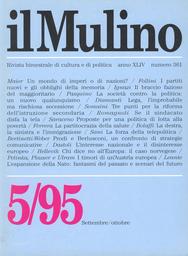 Copertina del fascicolo dell'articolo Imperi o nazioni? 1918, 1945, 1989 ...