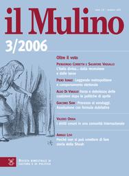 Copertina del fascicolo dell'articolo Laici, cattolici e democrazia