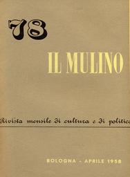 Copertina del fascicolo dell'articolo Indagine sui comportamenti elettorali a Bologna nel 1956 - I. Premesse di teoria e di metodo - II. Voto e ceti sociali
