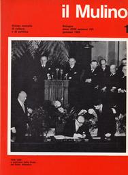 Copertina del fascicolo dell'articolo Tre progetti di riforma
