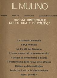 Copertina del fascicolo dell'articolo Design: profitto industriale o fni pedagogici?