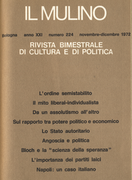 Copertina del fascicolo dell'articolo Ernst Bloch e la