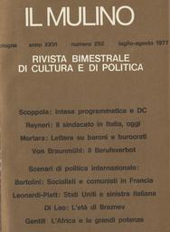 Copertina del fascicolo dell'articolo Lettera aperta su baroni e burocrati dalla periferia del sistema
