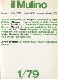 Copertina del fascicolo dell'articolo Il significato dell'elezione di Karol Wojtyla a Papa