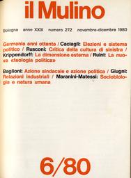 Copertina del fascicolo dell'articolo Rapporti fra azione sindacale e azione politica: il vecchio e il nuovo