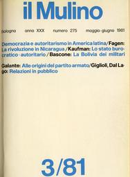 Copertina del fascicolo dell'articolo Liberalizzazione e democratizzazione degli stati burocratico-autoritari